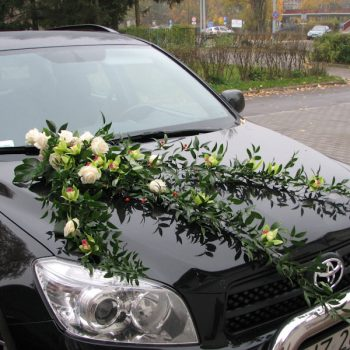 Dekoracje samochodu